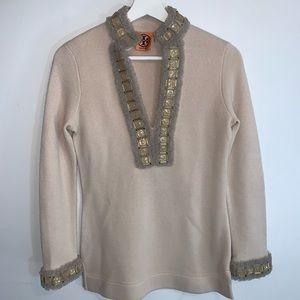 Tory Burch XS Wool Blend Knit Tunic